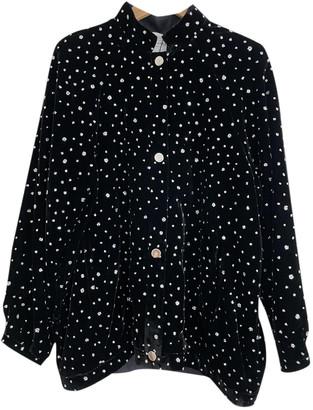 Roseanna Black Velvet Leather jackets