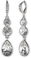 Givenchy Crystal Linear Earrings