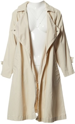 Isabel Marant Beige Cotton Trench Coat for Women