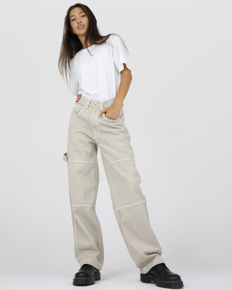 Dakota501 - Women's Neutrals Relaxed Jeans - Carpenter Pant - Size One Size, 8 at The Iconic