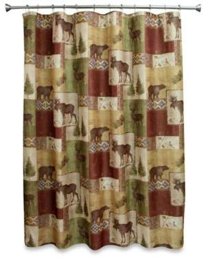 Bed Bath & Beyond Mountain Lodge 70-Inch W x 72-Inch L Shower Curtain