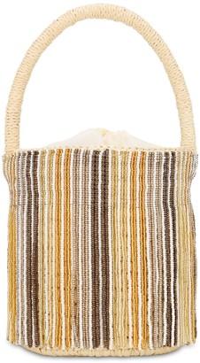 Sensi Mini Beaded Bucket Bag