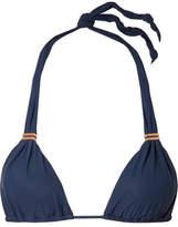 Vix Bia Triangle Bikini Top - Midnight blue