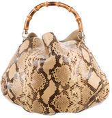 Gucci Python Peggy Bag