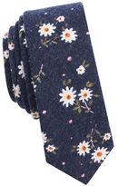 Original Penguin Floral Cotton Tie