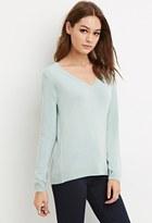 Forever 21 FOREVER 21+ Classic V-Neck Sweater