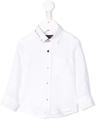 Lapin House Long-Sleeve Fitted Shirt