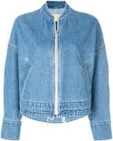 Christian Wijnants zipped denim jacket