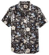 Sean John Men's Floral-Print Linen Shirt, Only At Macy's