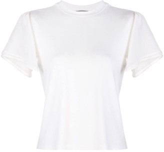 Alexis Ronson contrasting-sleeves T-shirt