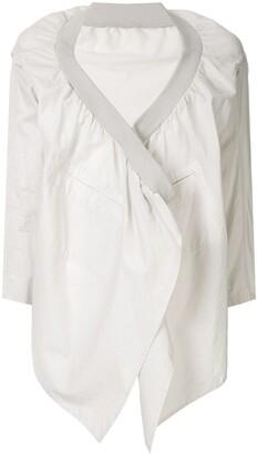 Yohji Yamamoto Pre-Owned Open Front Jacket
