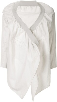 Yohji Yamamoto Pre Owned Open Front Jacket