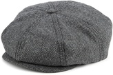 Brixton Men's Brood Woven Cap, Back Herringbone