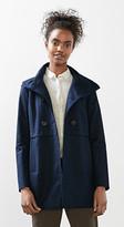 Esprit High collar stretch coat
