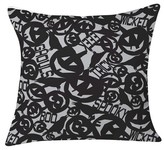 "DENY Designs Heather Dutton Something Wicked This Way Comes Throw Pillow Gray (20"" x 20"