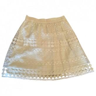 Philosophy di Lorenzo Serafini Ecru Cotton Skirt for Women