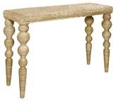 Progressive Belize Console Woven - Natural Abaca Furniture