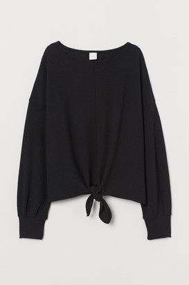 H&M Top with Dolman Sleeves - Black