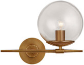 AERIN Turenne Small Sconce - Antiqued Brass