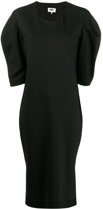 MM6 MAISON MARGIELA Puff-Sleeve Dress