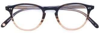 Garrett Leight Gradient Round Glasses