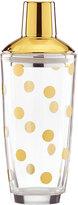 Kate Spade Gold-Dot Cocktail Shaker