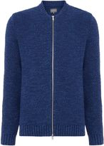 Peter Werth Coast Basket Weave Zip Through Bomber