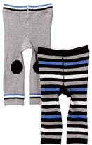 Cuddl Duds Stripes & Solid Cuddl Pants - Pack of 2 (Baby Boys)