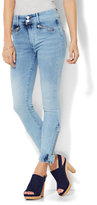New York & Co. Soho Jeans - Jennifer Hudson Ankle Legging - Blue Sunshine Wash