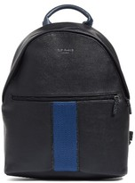 Ted Baker Men's Faux Leather Backpack - Black