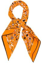 Hermes Printed Woven Scarf