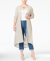 Style&Co. Style & Co. Plus Size Open-Front Duster Cardigan, Only at Macy's