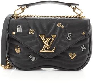 Louis Vuitton New Wave Chain Bag Limited Edition Love Lock Quilted Leather MM