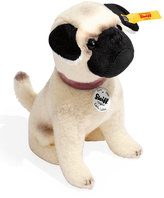 Steiff Little Lielou Stuffed Pug, White/Caramel
