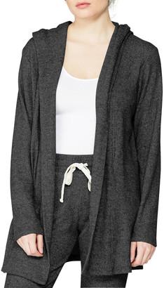 Monrow Thermal Hooded Cardigan