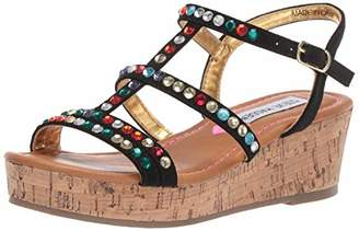 Steve Madden Girls' JJEWELLA Wedge Sandal