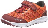Viking Unisex Kids' Doenna Elastic Low-Top Sneakers Orange Size: