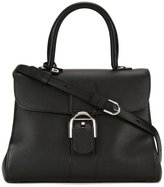 Delvaux buckle detail tote bag