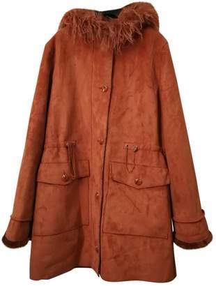 N. Non Signé / Unsigned Non Signe / Unsigned \N Orange Faux fur Jackets