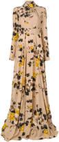 Rochas floral print dress