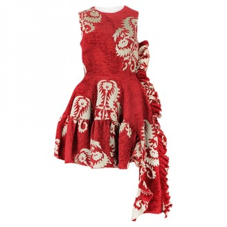 Simone Rocha Red Cotton Dresses