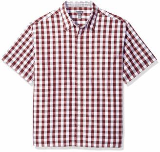 Van Heusen Men's Big and Tall Never Tuck Short Sleeve Shirt