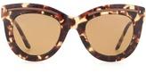 Bottega Veneta Tortoiseshell cat-eye sunglasses