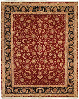 """Nourison Royalty RO45 Burgundy 7'9"""" x 9'9"""" Hand-Knotted Rug"""