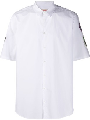 Raf Simons Patches Short-Sleeved Shirt