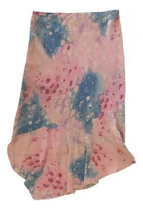 Anna Molinari Multicolour Silk Skirt for Women