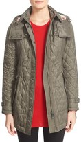 Burberry 'Finsbridge' Belted Quilted Jacket