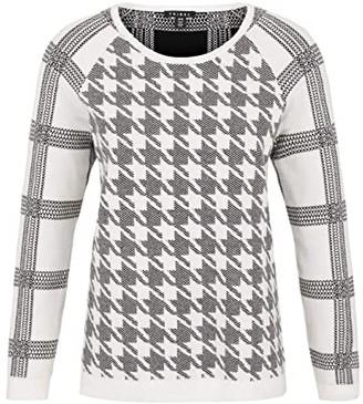 Tribal Reversible Long Sleeve Raglan Sweater (Black) Women's Sweater