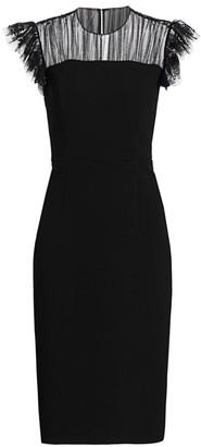 Jason Wu Collection Illusion Yoke Sheath Dress