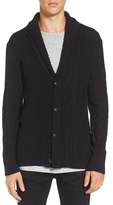 Zanerobe Men's 'Salem' Mixed Knit Cardigan